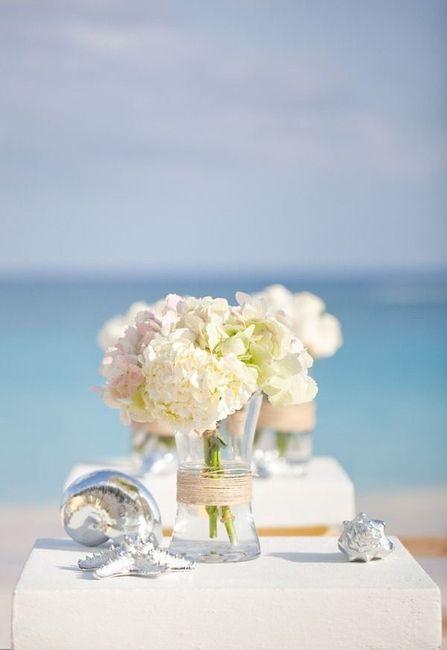 Centros de mesa para boda en playa 25
