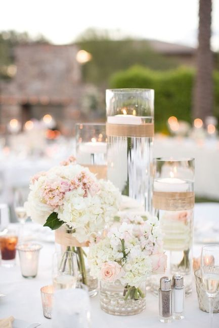 Centros de mesa para boda en playa 31