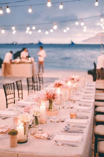 Centros de mesa para boda en playa 32
