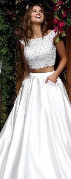 Vestido de novia de 2 piezas 👰🏻 1