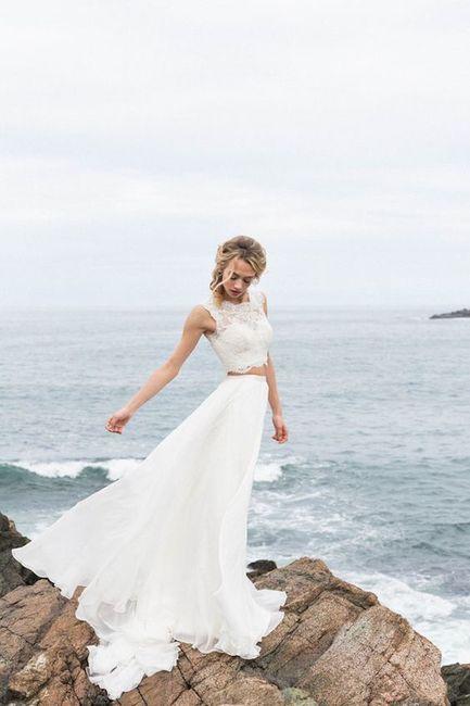 Vestido de novia de 2 piezas 👰🏻 4