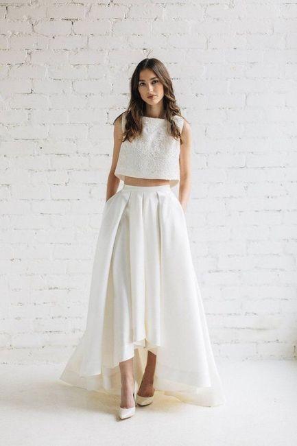 Vestido de novia de 2 piezas 👰🏻 5