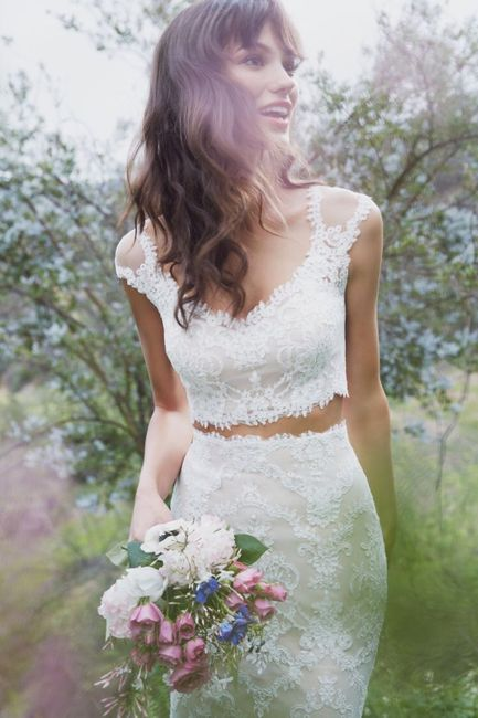 Vestido de novia de 2 piezas 👰🏻 7