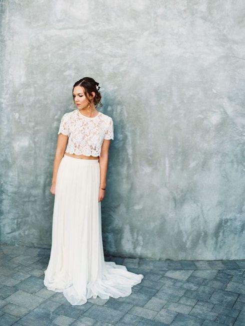 Vestido de novia de 2 piezas 👰🏻 9