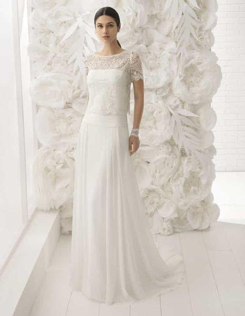 Vestido de novia de 2 piezas 👰🏻 10