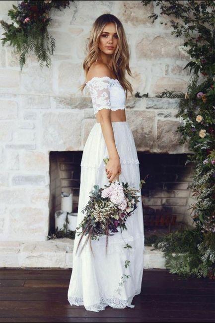 Vestido de novia de 2 piezas 👰🏻 11