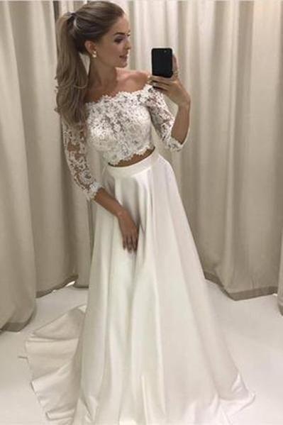 Vestido de novia de 2 piezas 👰🏻 12