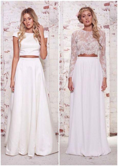 Vestido de novia de 2 piezas 👰🏻 14