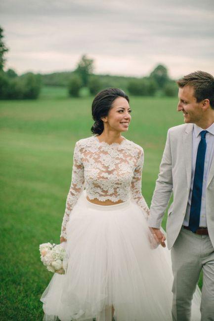 Vestido de novia de 2 piezas 👰🏻 16