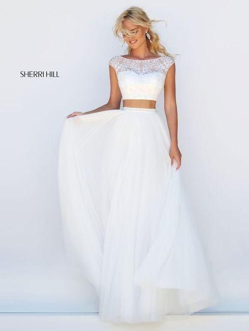Vestido de novia de 2 piezas 👰🏻 18