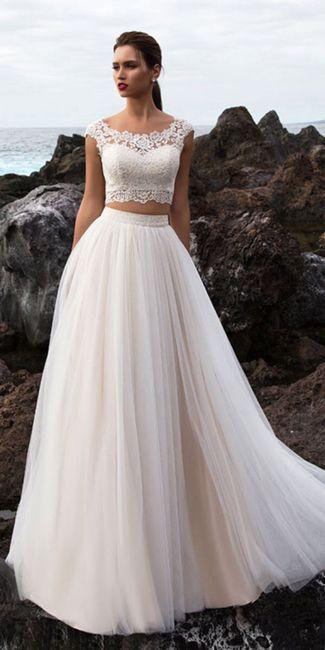Vestido de novia de 2 piezas 👰🏻 19