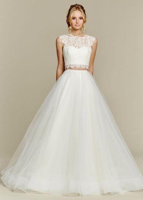Vestido de novia de 2 piezas 👰🏻 20