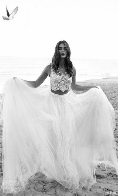 Vestido de novia de 2 piezas 👰🏻 23