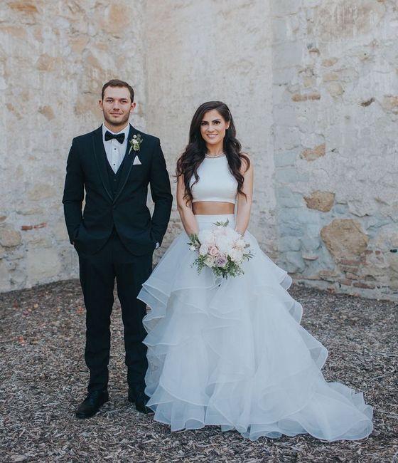 Vestido de novia de 2 piezas 👰🏻 26