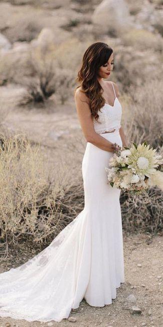 Vestido de novia de 2 piezas 👰🏻 31