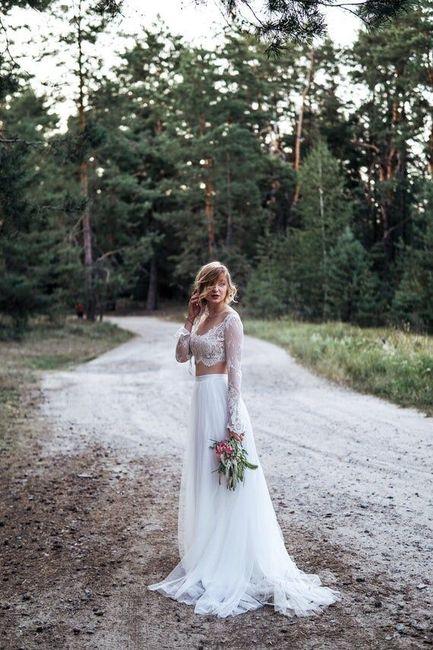 Vestido de novia de 2 piezas 👰🏻 34