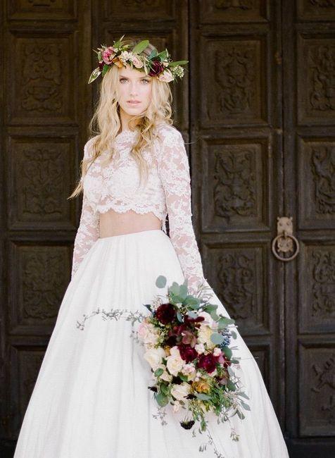 Vestido de novia de 2 piezas 👰🏻 38
