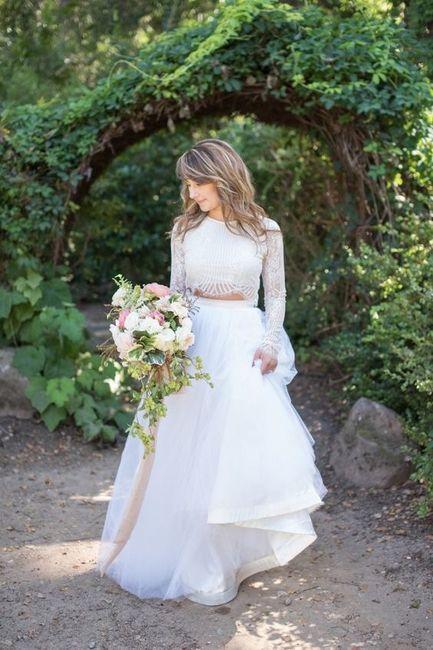 Vestido de novia de 2 piezas 👰🏻 39