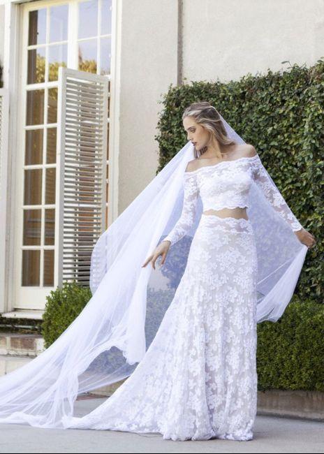 Vestido de novia de 2 piezas 👰🏻 41