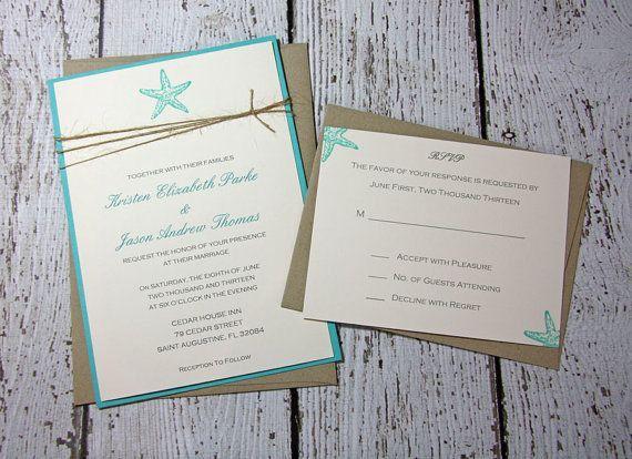 Ideas de invitaciones/ boda en la playa 21