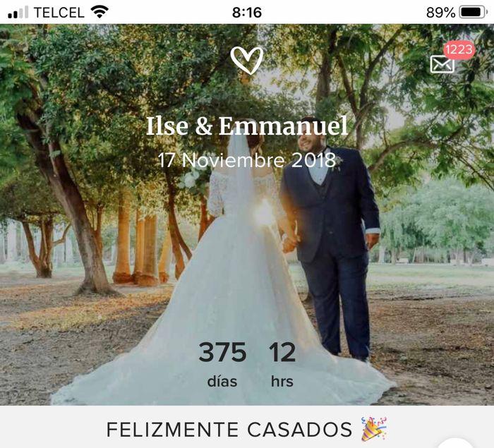Contador de los ya casados ¿les gustó? 6