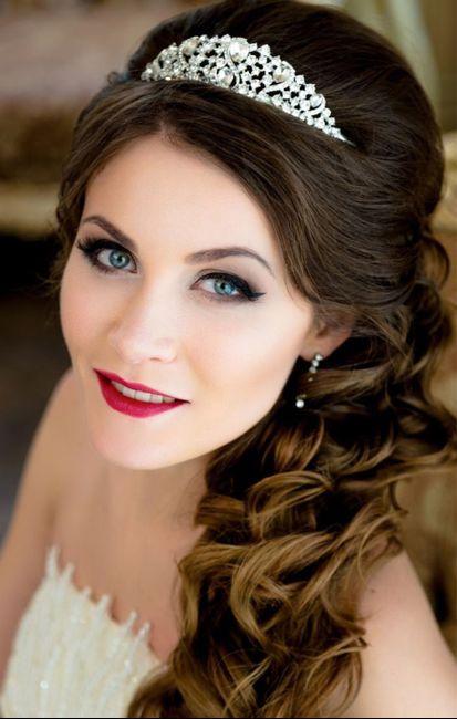 Ideas de estilo para peinados semi recogido Fotos de estilo de color de pelo - Peinados semi recogido para novia 👰🏻 - Foro Belleza ...