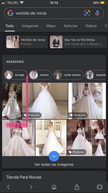 """[JUEGO] Si Googleas """"Vestido de novia""""... 16"""