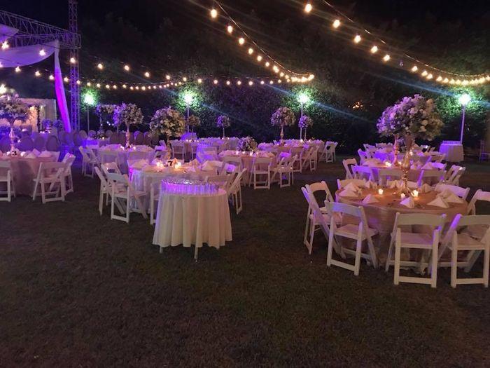 Románticas ideas para una boda en jardín 13
