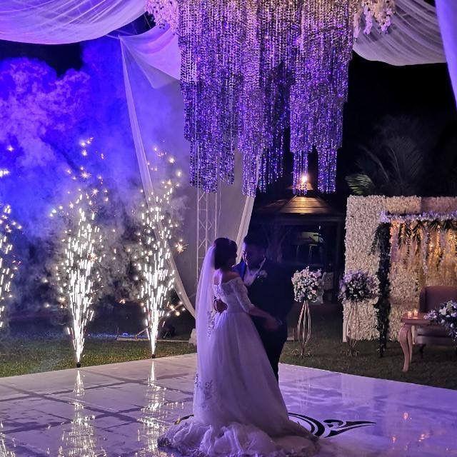 Románticas ideas para una boda en jardín 16