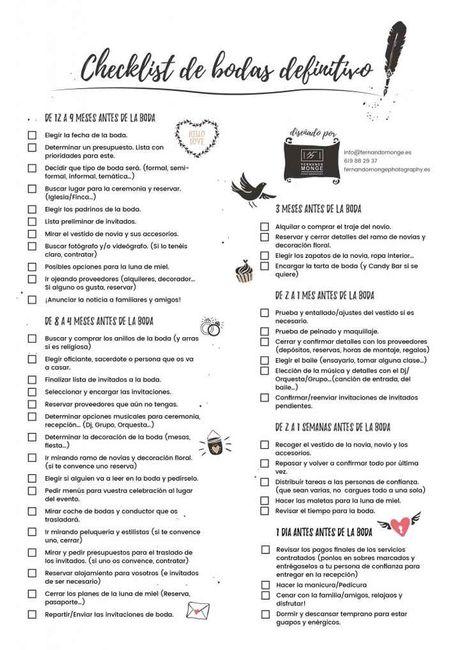 Urge 😢 - ayuda para organizar boda 5