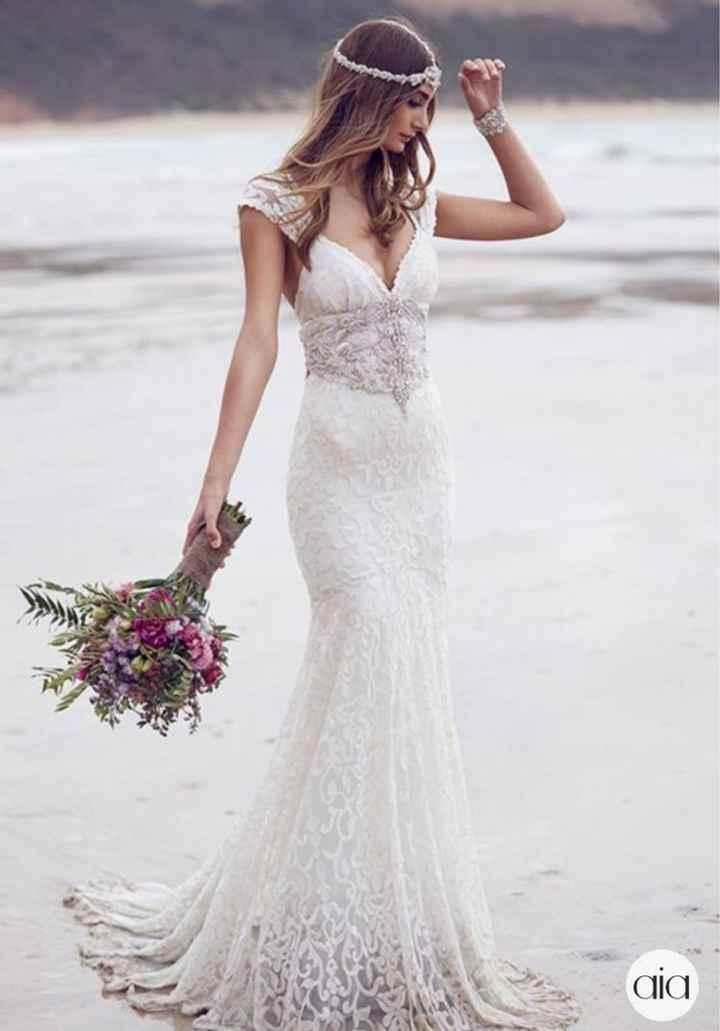 Ayuda: ideas vestidos de novia y damas para playa. - 5