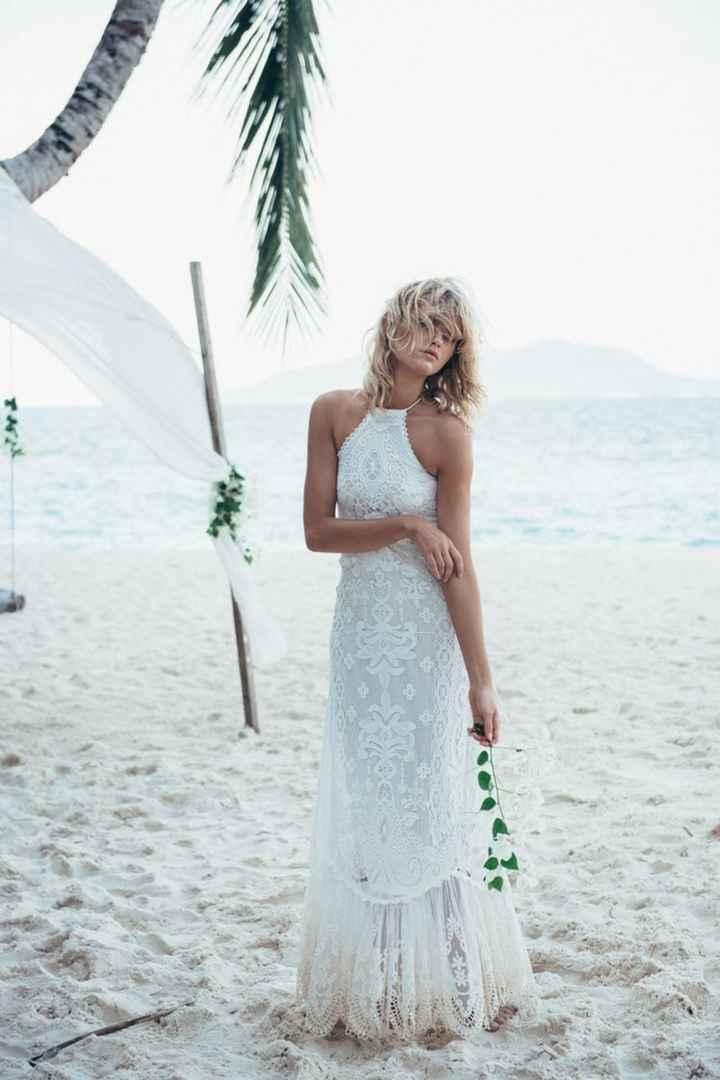 Ayuda: ideas vestidos de novia y damas para playa. - 7