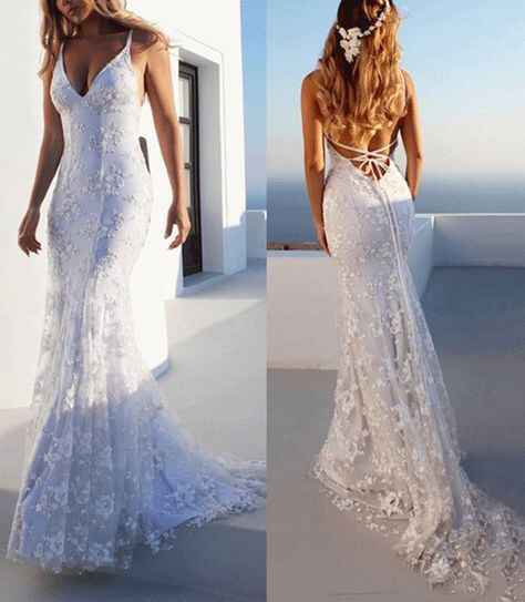 Ayuda: ideas vestidos de novia y damas para playa. - 10