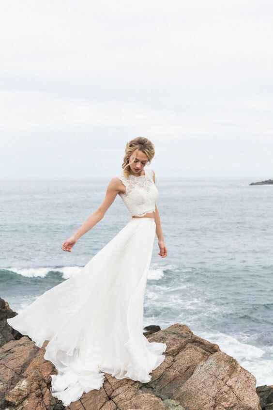Ayuda: ideas vestidos de novia y damas para playa. - 13