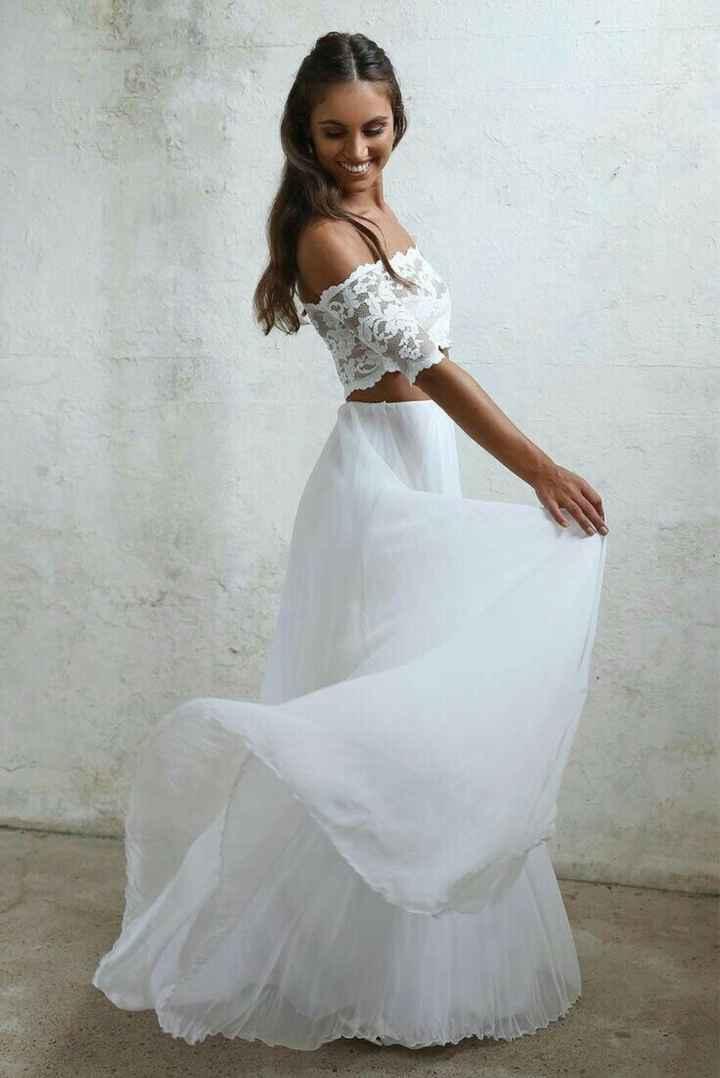 Ayuda: ideas vestidos de novia y damas para playa. - 17