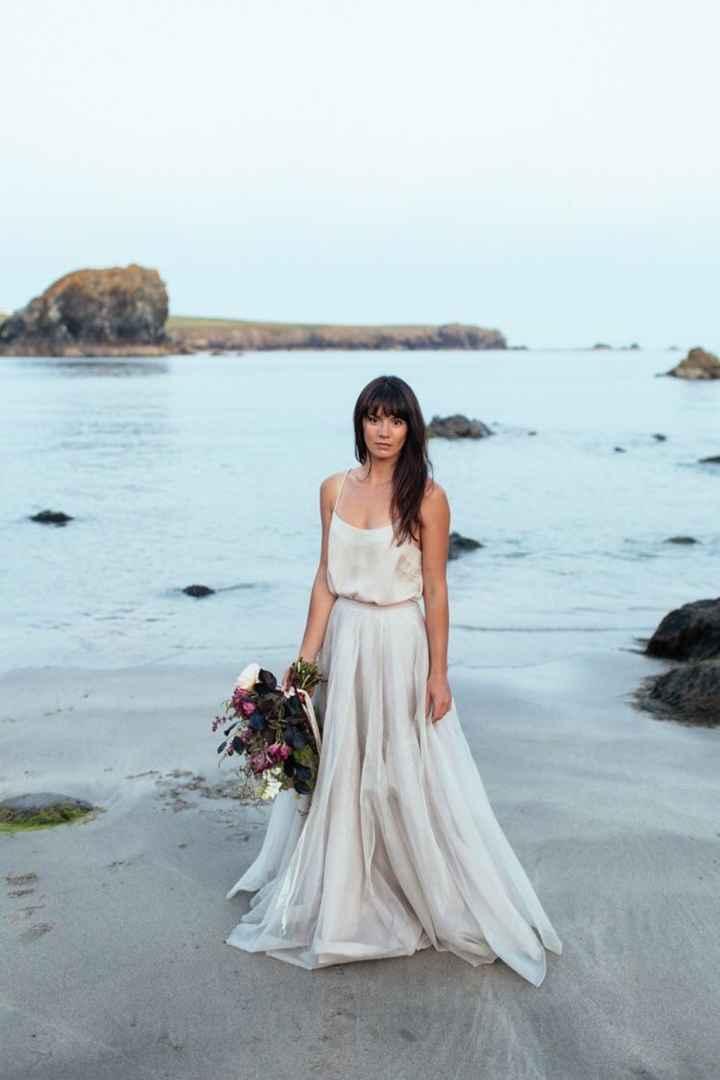 Ayuda: ideas vestidos de novia y damas para playa. - 18