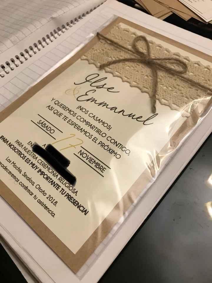 ¿Habrá cosas DIY (manualidades) en tu boda? - 3