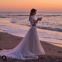 Ayuda: ideas vestidos de novia y damas para playa. - 20