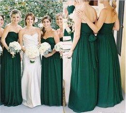 Vestidos verdes para dama de boda