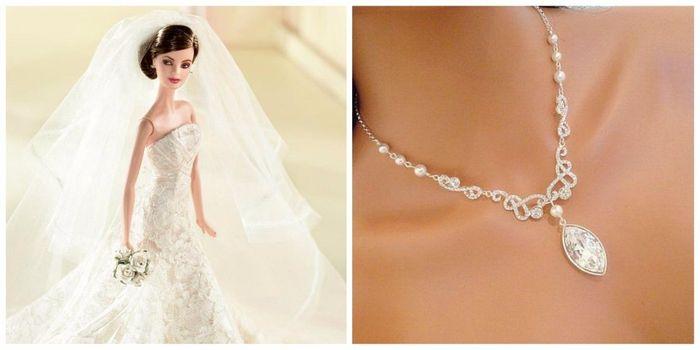 1bf9db7e3323 Tu collar de novia inspirado en Barbie  ¿cuál eliges  - Foro Moda ...