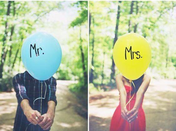 7 ideas originales para tu Save the date con globos 2
