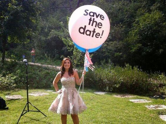 7 ideas originales para tu Save the date con globos 4