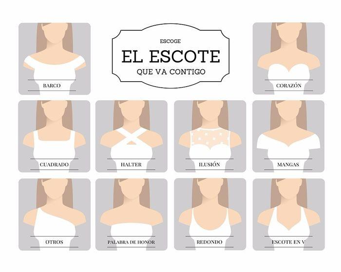 diseña tu propio vestido de novia: ¡el escote! - foro moda nupcial