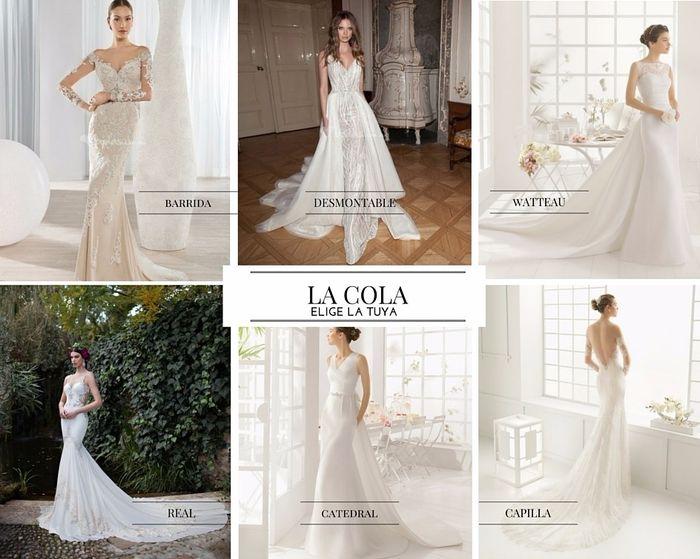 diseña tu propio vestido de novia: ¡la cola! - foro moda nupcial