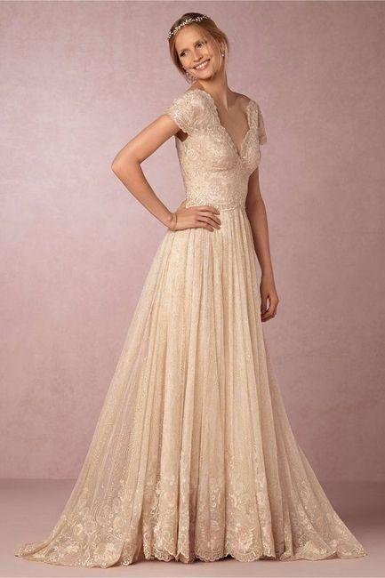 brillante n color envio GRATIS a todo el mundo como comprar Vestidos de novia en color Ivory - Foro Moda Nupcial - bodas ...