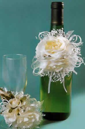 Botellas vino decoradas foro manualidades para bodas - Botellas de vino decoradas ...