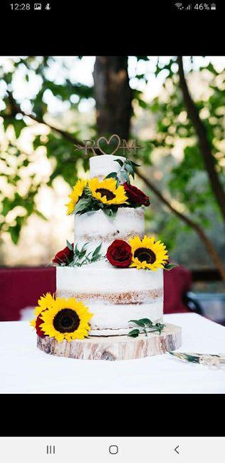 5 pasteles de boda con flores 6