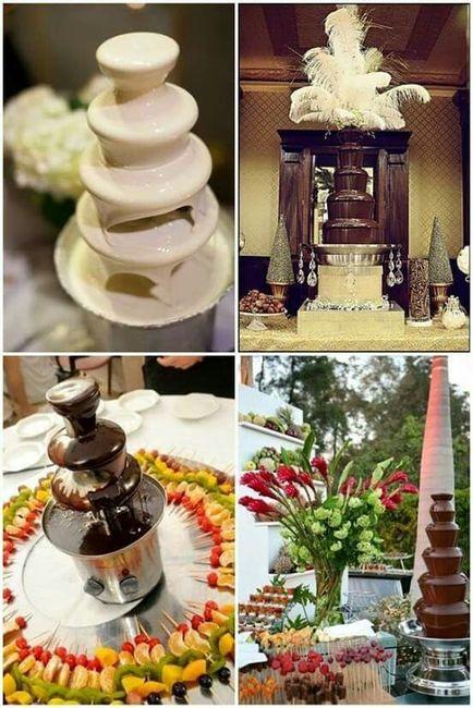 Mesa de dulces y frutas foro banquetes for Dulce boda