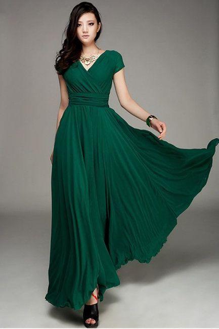 vestidos para dama verde esmeralda! - foro moda nupcial - bodas.mx