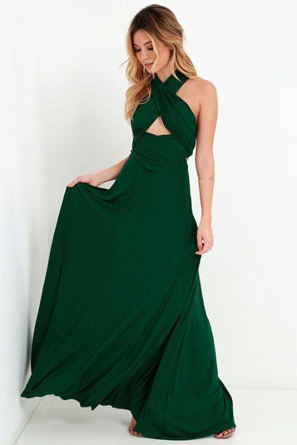 Vestidos Para Dama Verde Esmeralda Foro Moda Nupcial